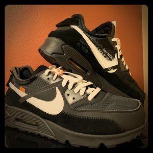 Nike off white airmax 90